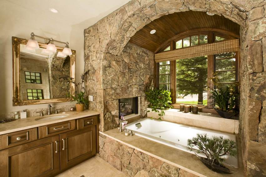rustic bathroom (10)