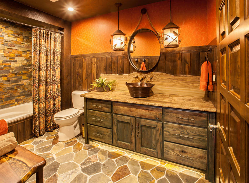 rustic bathroom (29)