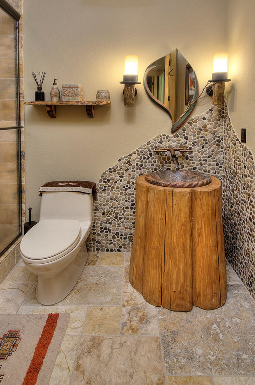 rustic bathroom (7)