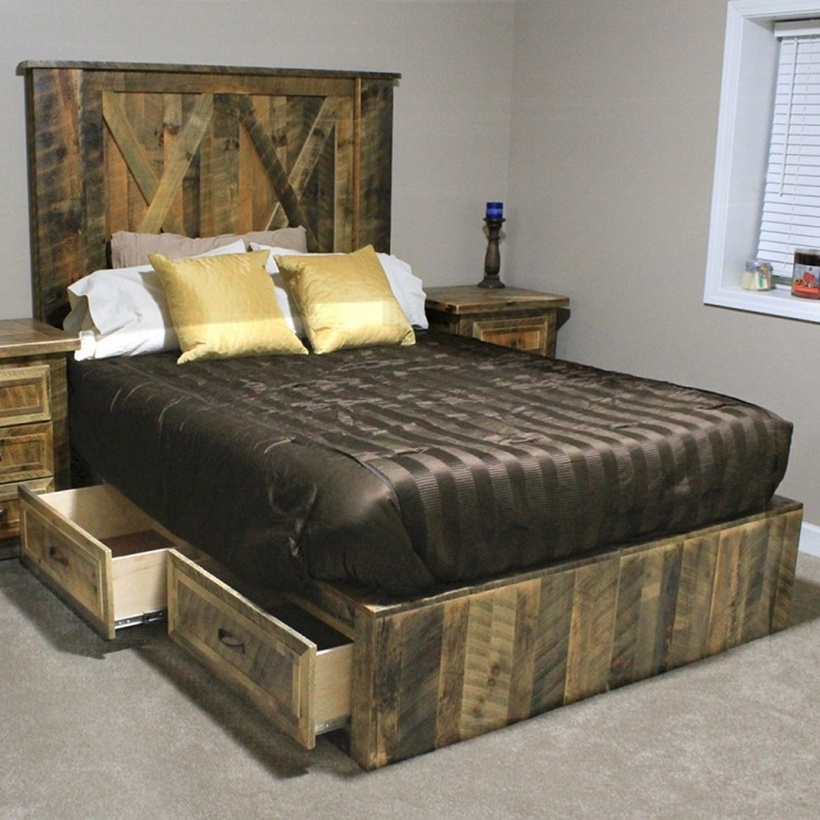 Rustic Beds and Bedroom Furniture Ideas | Rustic Living and Home ...