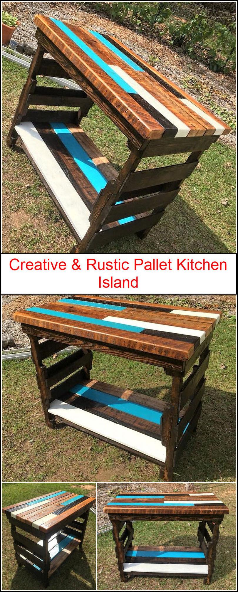 Rustic pallet creation 1