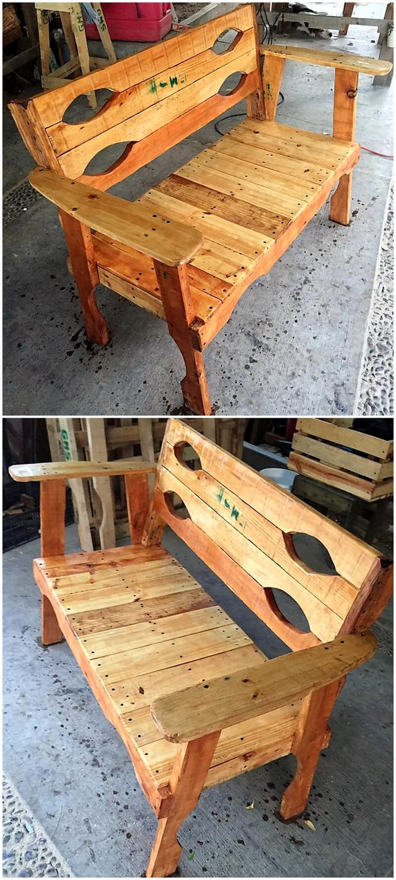 Rustic Pallet Wood Ideas and Projects | Rustic Home Decor ...