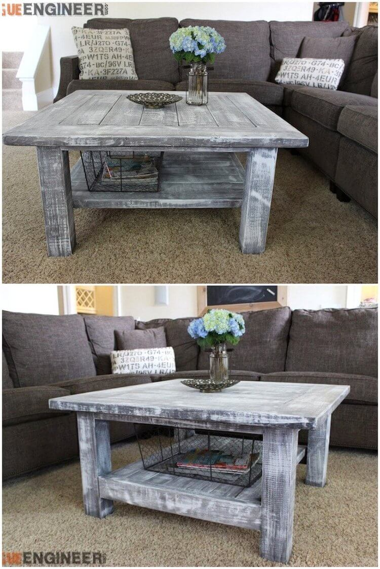 45 Rustic Coffee Tables And Diy Plans Rustic Home Decor And